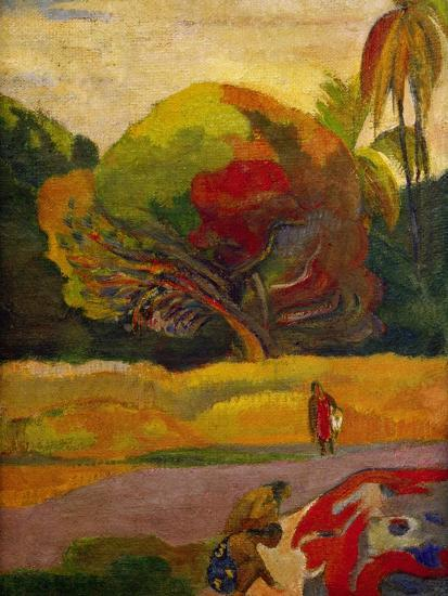 Women by the River, 1892-Paul Gauguin-Giclee Print