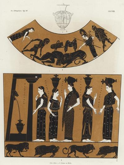Women Carrying Hydria--Giclee Print