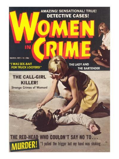 Women in Crime--Art Print