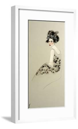 Women in Evening Dress, 2016-Susan Adams-Framed Giclee Print