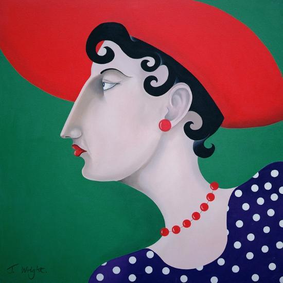 Women in Profile Series, No. 16, 1998-John Wright-Giclee Print