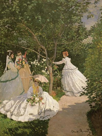 Women in the Garden, 1867-Claude Monet-Giclee Print
