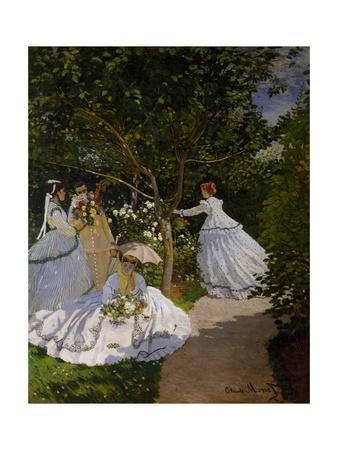 Women In The Garden At Ville Du0027Avray, 1867By Claude Monet