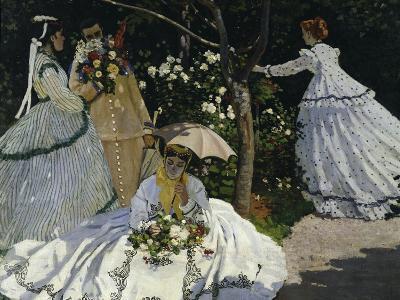 Women in the Garden, c.1867-Claude Monet-Giclee Print
