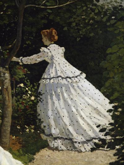 Women in the Garden, Detail-Claude Monet-Giclee Print