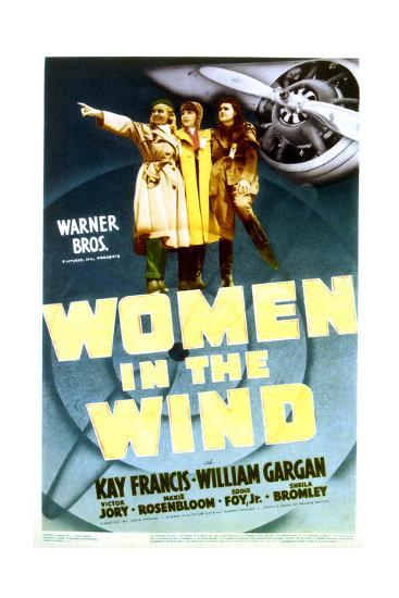 Women in the Wind - Movie Poster Reproduction--Art Print
