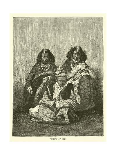 Women of Leh--Giclee Print