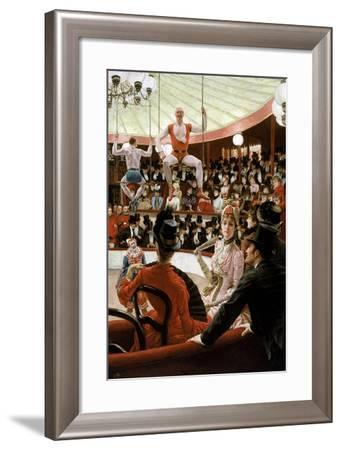 Women of Paris: the Circus Lover-James Tissot-Framed Giclee Print