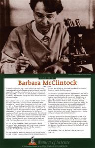 Women of Science - Barbara McClintock