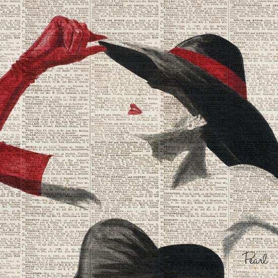 Women of Style Square II--Premium Giclee Print