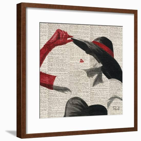 Women of Style Square II--Framed Premium Giclee Print