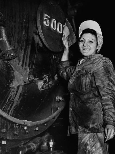 Women of the Rails--Photographic Print