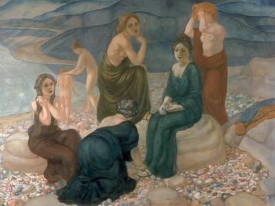 Women on the Beach, 1908-Kosjma Ssergej Petroff-Wodkin-Giclee Print