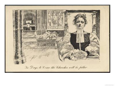 Women Priests--Giclee Print
