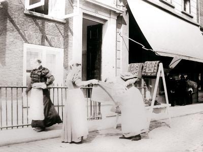 Women, Rotterdam, Netherlands, 1898-James Batkin-Photographic Print