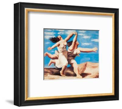 Women Running on the Beach, c.1922-Pablo Picasso-Framed Art Print