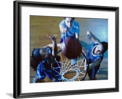 Women's Basketball--Framed Photographic Print