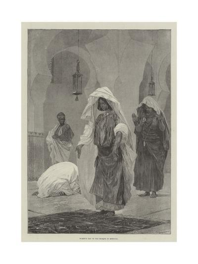 Women's Day in the Mosque in Morocco-Richard Caton Woodville II-Giclee Print