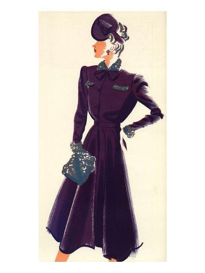 Women's Fashion 1930s, 1939, UK--Giclee Print