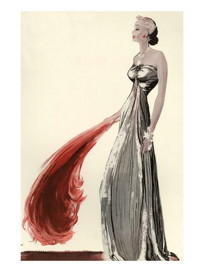 Women's Fashion 1930s, 1939, UK--Giclee Print