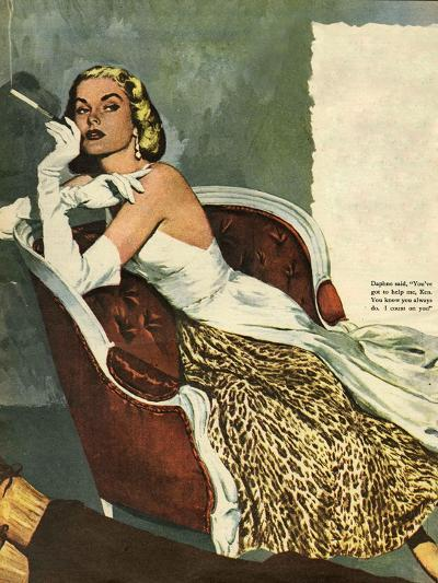 Women's Fashion, Illustration from 'John Bull'--Giclee Print