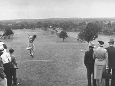 Women's NationalAmateur Golf Tournament--Photographic Print