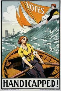 Women's Suffrage, Handicapped, London!
