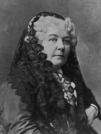 Women's Suffrage Leader Elizabeth Cady Stanton