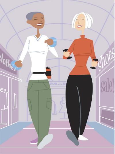 Women Shopping--Photo