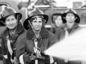 Women Volunteer Fire Fighters in Micanopy, Fla