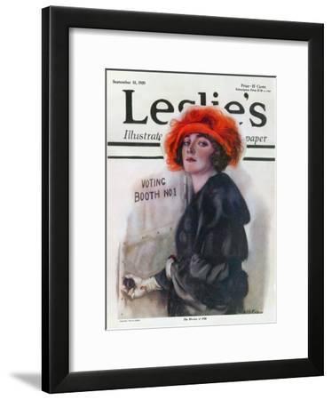 Women Voting, 1920--Framed Giclee Print