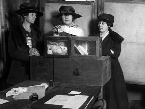 Women Voting, C1917