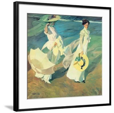 Women Walking On The Beach Art Print Joaquín Sorolla Y Bastida Art Com