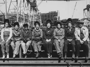 Women Welders of Ingalls Shipbuilding Corp.