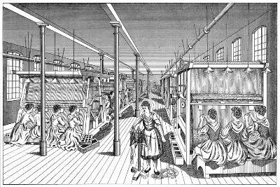 Women Workers in a Carpet Factory, C1895--Giclee Print