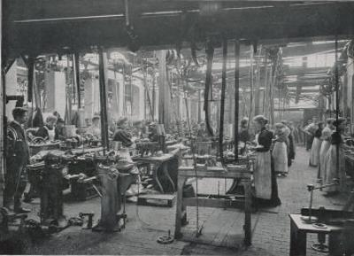 Women Working at the Coventry Machinists' Company Cycle Works Warwickshire