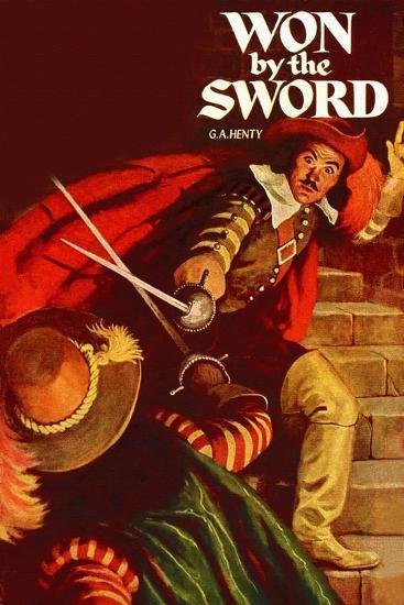 Won By The Sword--Art Print