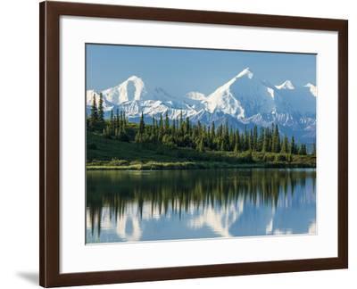 Wonder Lake, Denali National Park, Alaska-Howard Newcomb-Framed Photographic Print