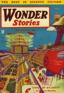 Wonder Stories, 1934, USA