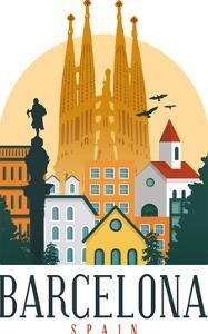 Barcelona Spain by Wonderful Dream