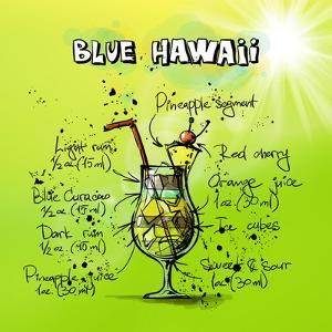 Blue Hawaii Cocktail by Wonderful Dream