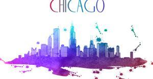 Chicago Skyline by Wonderful Dream