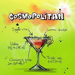 Cosmospolitan Cocktail by Wonderful Dream