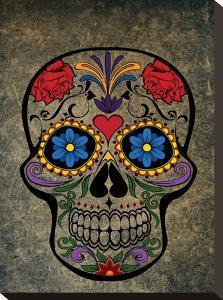 Floral Horror Skull Gothic by Wonderful Dream