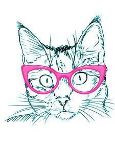 Hipster Cat by Wonderful Dream