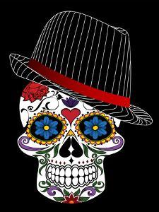 Hipster Horror Skull Halloween by Wonderful Dream