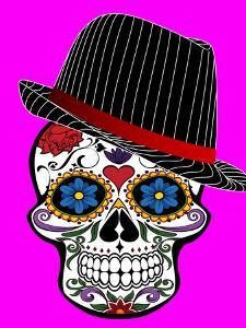 Hipster Skull Pink Style by Wonderful Dream