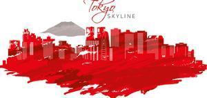 Japan Tokyo Skyline by Wonderful Dream