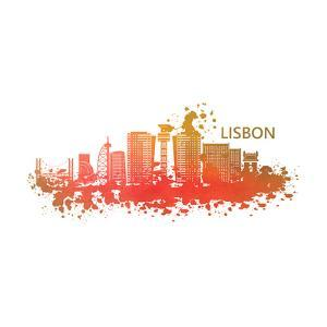 Lisbon Portugal Skyline by Wonderful Dream