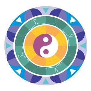 Mandala Yin Yang by Wonderful Dream
